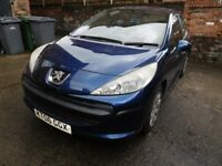 Peugeot 207 1.4 reg 2006 Bodywork in excellent condition Sold as spares or repair £695 or near offer