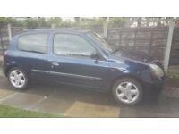 Renault clio 1.2 16v 2002. Bargain