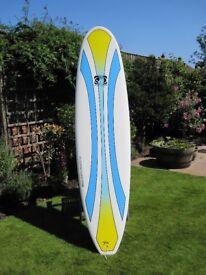 Body glove 7'6 surfboard