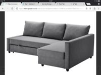 L shaped IKEA Sofa Bed
