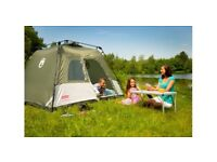 New Festival 4 Berth Tent in box with instructions