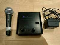 50W tube pre-amp and microphone