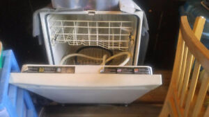 for sale build in dishwasher white GE