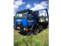 MAN 18 ton skip truck 2006 4x2