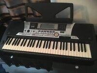 Yamaha PSR 550 Keyboard with Stand