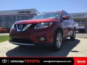 Certified 2015 Nissan Rogue SL Tech AWD - NAV! LEATHER!