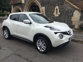 Owens cars Surrey are proud to present Nissan Juke Acenta automatic 2015 , only 5900 miles f.s.h.