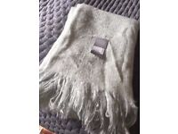pale green throw from TK MAX brand new