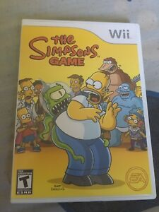 The Simpsons game for wii
