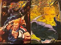 STREET FIGHTER IV COMICS ISSUES 1&2