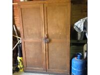 Victorian Solid pine/ oak kitchen cupboard