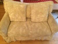 Free Sofa bed/ loveseat, cotton cover, down filled Great Condition, Collection from B13 9TF