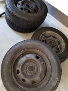 Selling 4 Tires with Rims Size 175 70 R 13*Great DEAL*