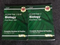 A level biology AQA new specification revision guide
