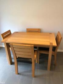M&S Light Sonoma Dining Table & Chairs