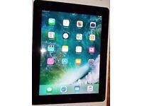 Apple iPad 4th Generation 16GB Wi-Fi + 4G (Unlock), Black+Gift