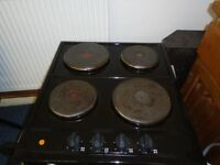 Electric hob solid plate