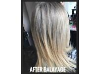 Mobile hairdresser, hair extensions, spray tan eyelash tint, eyebrow tint