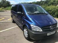 MERCEDES VITO 2012 9 SEATER NEW PCO