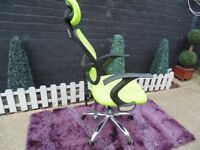 RECLINER OFFICE CHAIR VERY SOLID CHAIR IN EXCELLENT CONDITION 60/45/115 cm £30