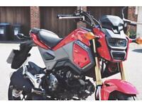 Honda MSX (Grom) 125cc 2016