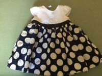 Jasper conran girls dress age 9-12 months