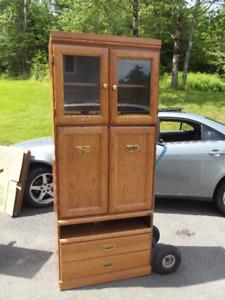 TV Cabinet – Glass Doors