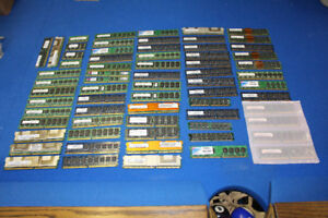 Huge lot of RAM - Many different sizes