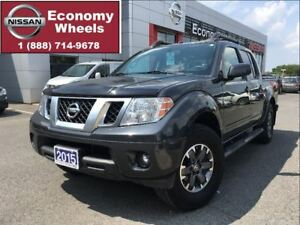 2015 Nissan Frontier PRO-4X / LEATHER / ONE OWNER