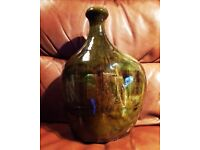Early Trenaen sculptural studio pottery lamp vase