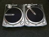 Numark TT2000 Turntables with Ortofon Concorde Carts