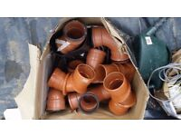 Waste pipe bends and junctions for quick sale