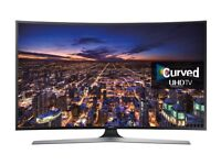Samsung 40 inch JU6740 Curved HDR UHD 4K Smart LED TV - WITH remotes & warranty
