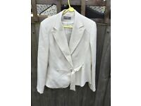 Wallis size 16 women's cream jacket