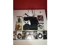 PS3, Games, 2 Controllers and Cables