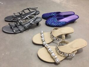 NEW / LIKE NEW LADIES SANDALS - only $3.00 each!