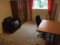 Double room with PERSONAL LOCK(furnished)near the Salford University £375/month,all bills included