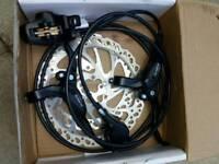 Clarks hydrolic brakes