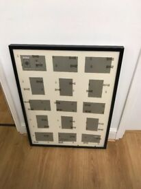 Ikea Ribba Frame for 15 picture black