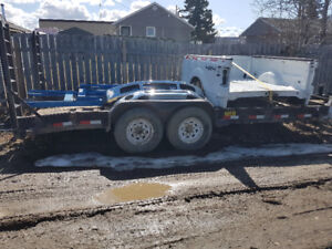 Big tex 18 ft 12 eq trailer 2 6000 lb axles