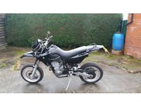 Mz Baghira 660cc Super moto Black