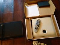 2 x Sky HD+ set top boxes
