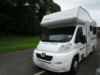 2007 Elddis Sunstyle 140 GT 4 Berth U shaped Lounge Motorhome For Sale Ref 11227