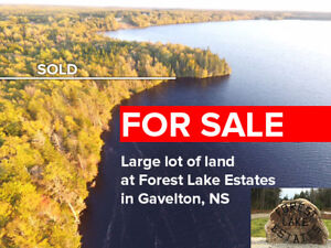 WATERFRONT LOT FOR SALE IN GAVELTON, NS