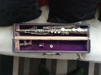 REDUCED PRICE VINTAGE MARTIN LOW PITCH A440 SOPRANO SAXOPHONE WITH ORIGINAL CASE