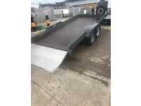"Car transporter trailer 13""3 x6""1 with hydraulic ram"