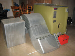 Oil Furnace Forced air