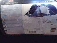 Wynnster 4 man premier range camping tent excellent condition