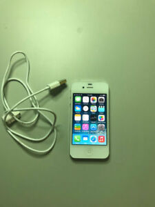 Telus iPhone 4 8GB White