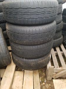 4 pneus Bridgestone Dueler 235/55r18